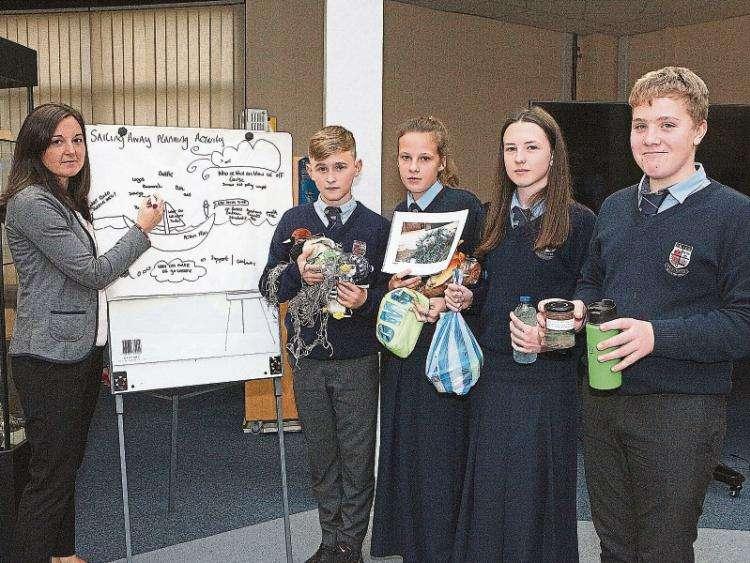 Limerick secondary school Crescent College futureproofs plastic-free future